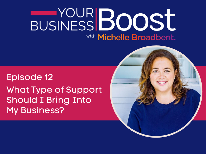 What Type of Support Should I Bring Into My Business? | Episode 12