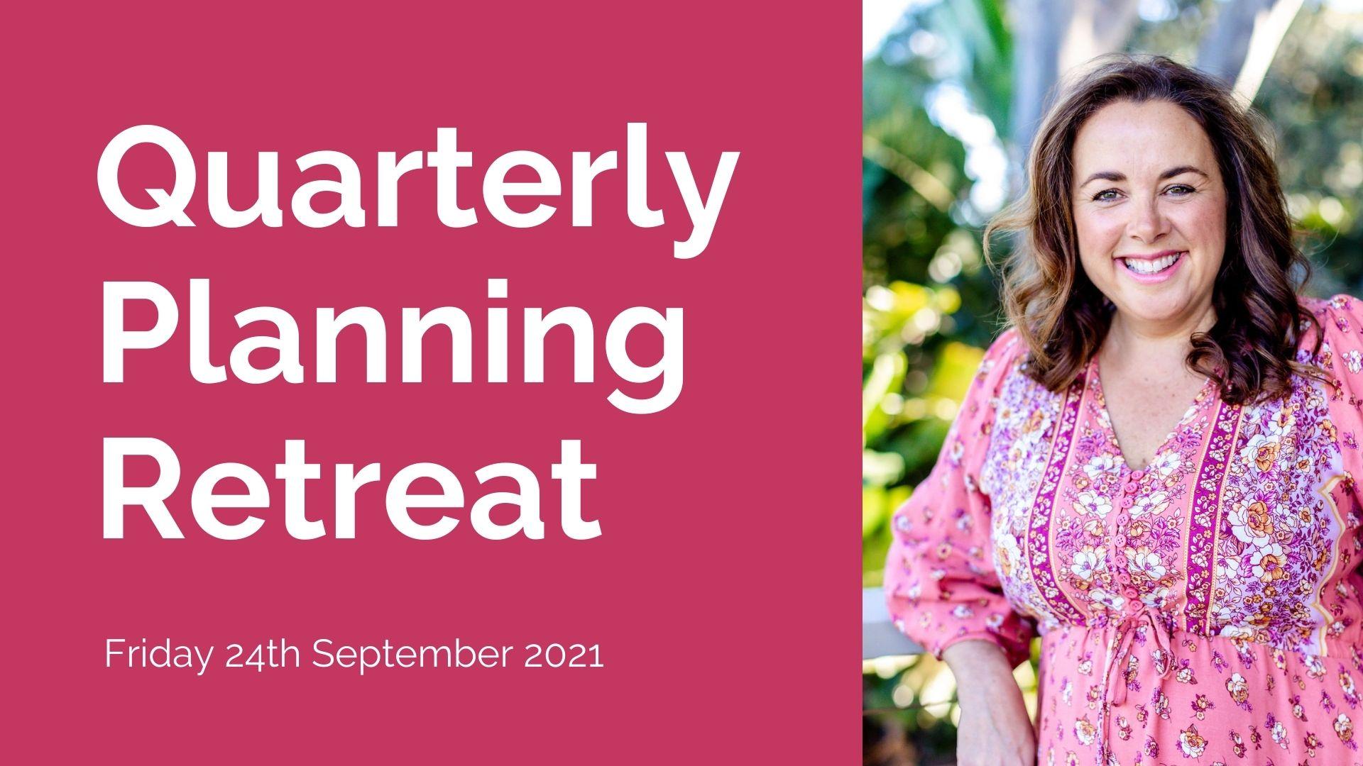Quarterly planning retreat, Michelle Broadbent